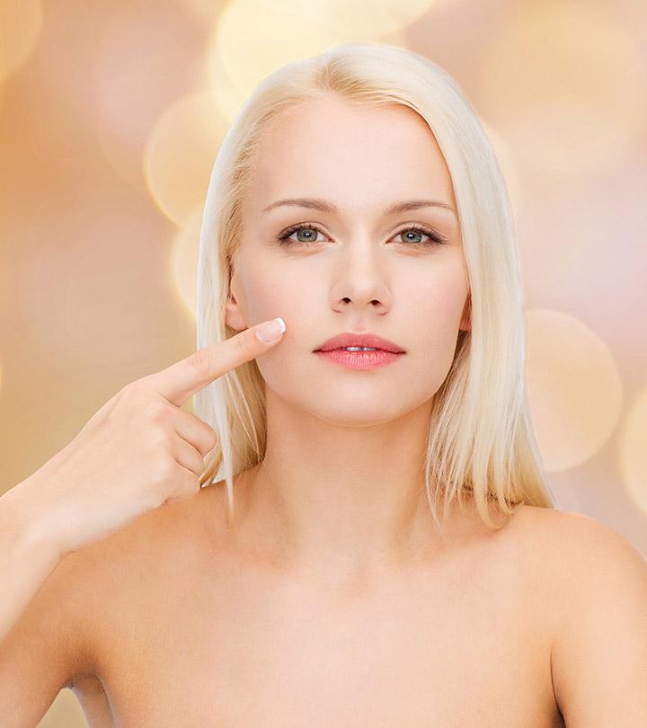 Skin whitening sponge